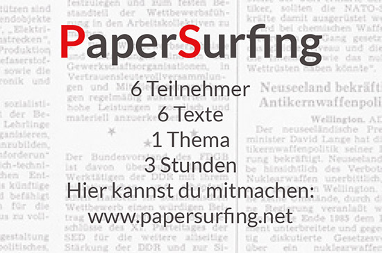 PaperSurfing